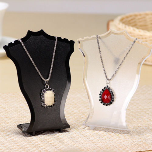Portable Fashionable Jewelry Diaplay Shelf Hanger Organizer Plastic Necklace Frame Shelf(China (Mainland))