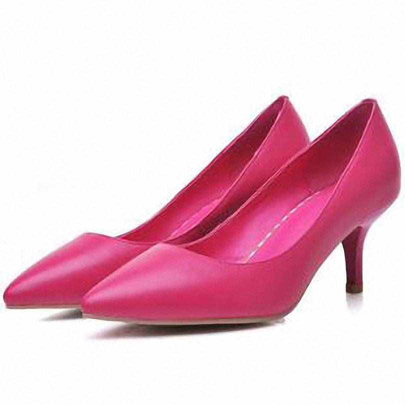 ENMAYER   Full Grain Leather Classics pumps Pointed Toe  comfort Low heels shoes for girls slip-on  Office &amp; Career women pumps<br><br>Aliexpress