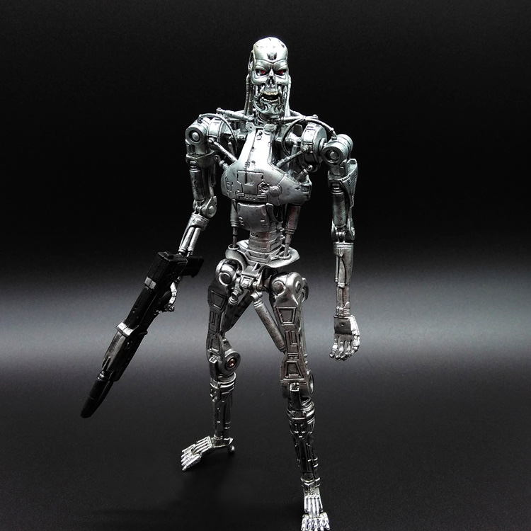 NECA Terminator Future Soldier Doll T800 / T1000 mechanical skeleton model Movable joints<br><br>Aliexpress