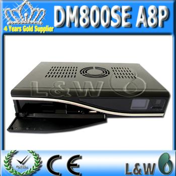 Satellite TV Receiver Dm800SE hd   a8p Card   REV D11 linux system decoder dm800sea8p  FEDEX Free Shipping