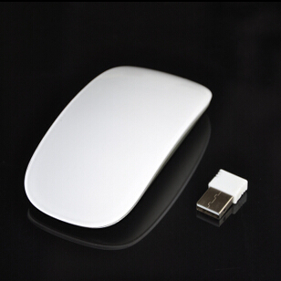 Free shipping special promotions 2.4G smooth touch mouse slim cute mouse wireless mouse(China (Mainland))