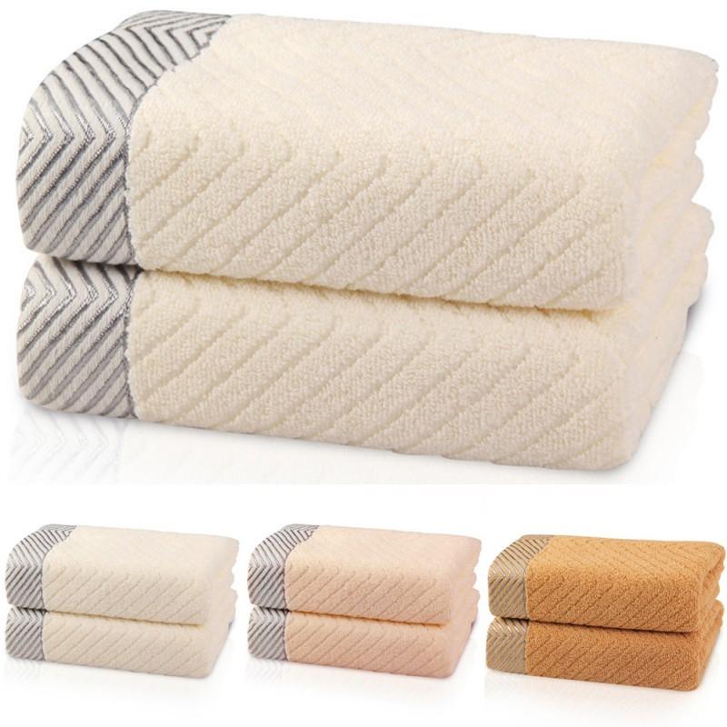 Soft Absorbent 100% Cotton Hand Bath Beach Sheet Towels 33x72cm