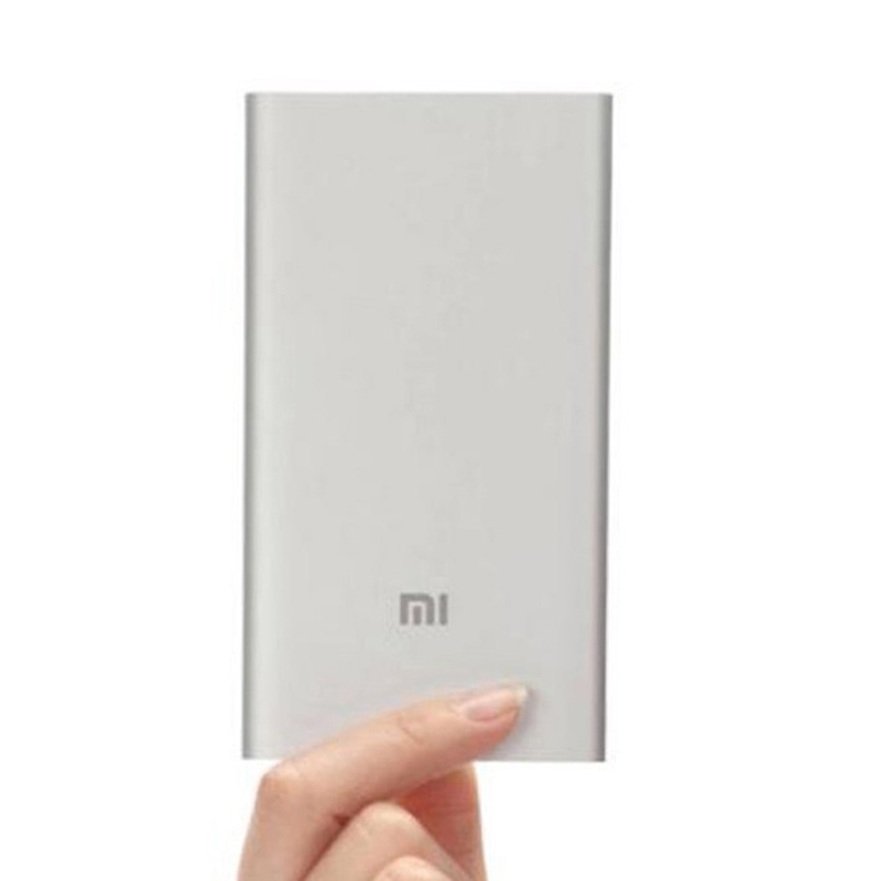 Original Xiaomi Power Bank 5000mAh Ultra Slim Powerbank 5000 External Battery Charger for Xiaomi Mi4 Mi3 Redmi iPhone 6 s(China (Mainland))
