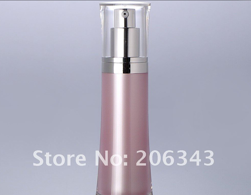 30ml pink acrylic press pump bottle,cosmetic container,press pump bottle ,Cosmetic bottle Cosmetic Packaging<br><br>Aliexpress