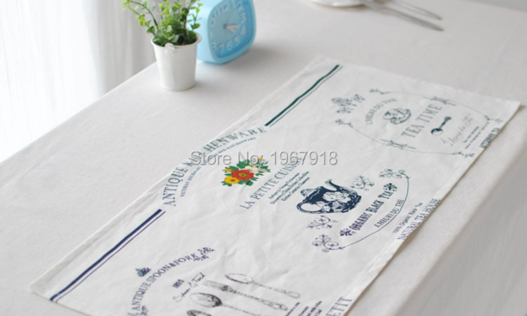 Linen Placemat rustic dining table mat disc pads bowl pad coasters wedding table cloth pad slip-resistant pad (8)