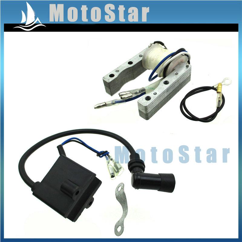 CDI Ignition Coil Magneto For 50cc 60cc 66cc 80cc 2 Stroke Engine Motorized Bicycle Push Bike(China (Mainland))
