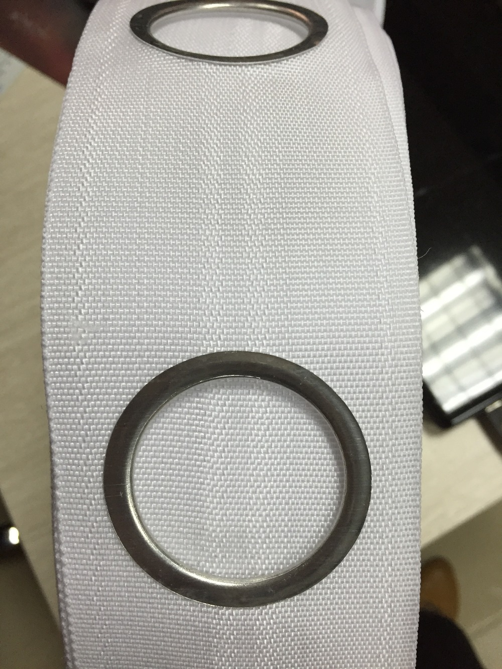 Curtain eyelet rings - Curtain Grommet Tape Curtain Tape With 1m 8rings Eyelet