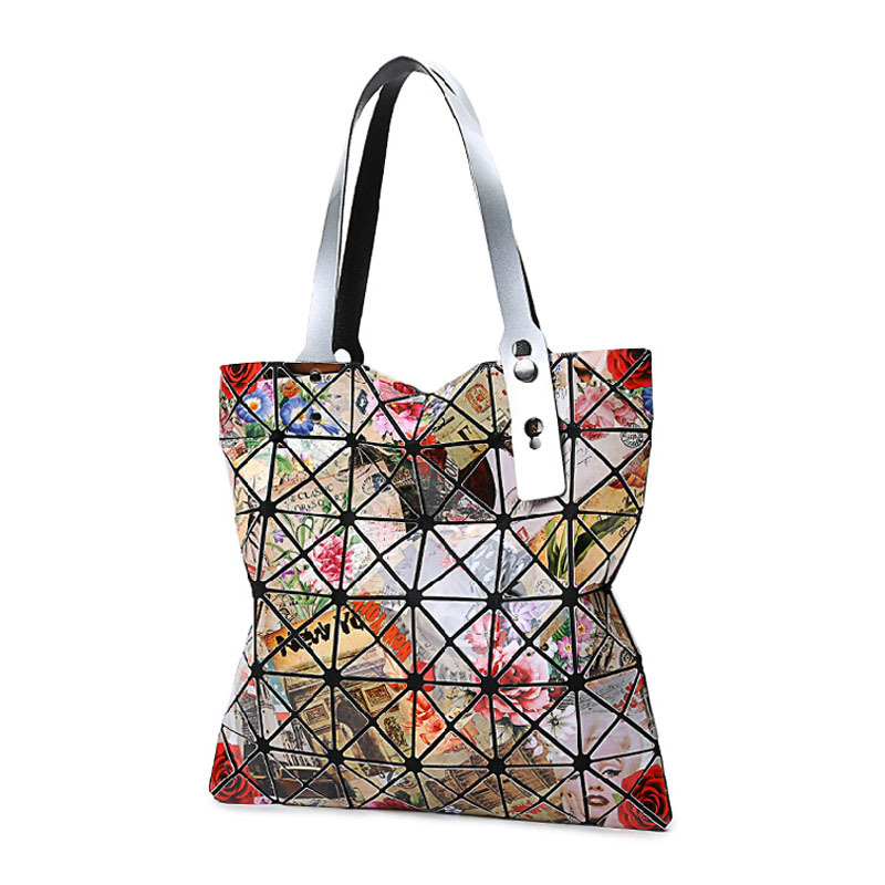 2015 Woman Bag Brand Famous Large Tote Bag Ladies Big Womens Tote Bags Women Designer Handbags Floral Print Shoulder Bags Bolsas(China (Mainland))