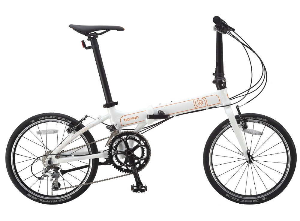 2X10S Air Speed 20'' Alloy Folding Bicycle Front & Rear Wheel V Brake Folding Bike Hard Frame Standard Variable Bicycle