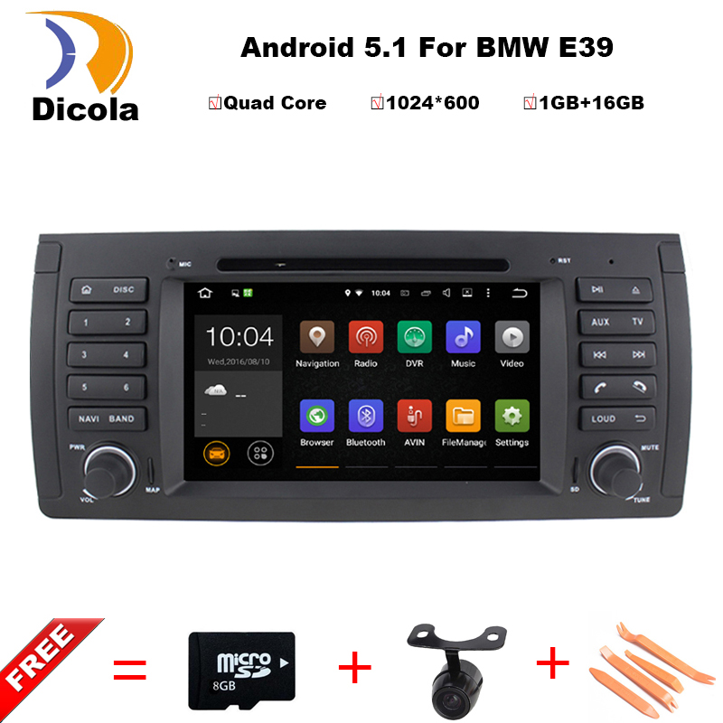 "Android 5.1.1 Quad Core GPS Navigation 7"" Car DVD Player for BMW E39 1997-2007/Range Rover 02-05 with Bluetooth/RDS/Radio/Canbus(China (Mainland))"