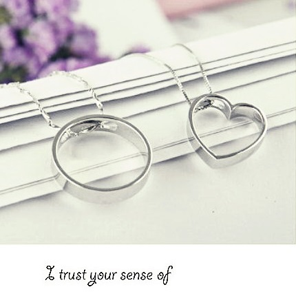 Necklaces Pendants Vintage Can Buy Separate 925 Silver Heart Charms Pendant Men Women Birthday Gift Idea Ulove Fashion N240(China (Mainland))