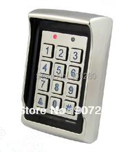 Étanche conception de la couverture anti - vandale métallique proximité RFID de contrôle d'accès clavier avec double sortie relais(China (Mainland))