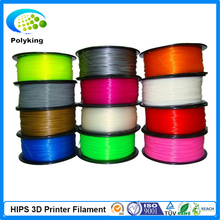 Free Shipping High quality 3D Printer Filament 1.75mm HIPS 1KG Consumables Material MakerBot/RepRap/UP/Mendel