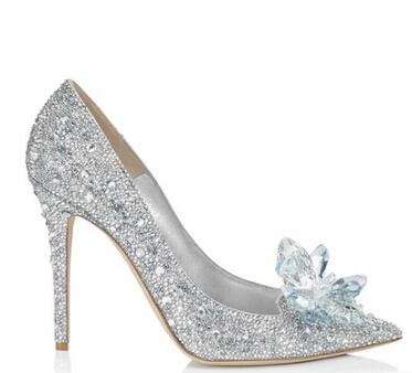 2015 Newest Luxury Brand Rhinestone Women Pumps Pointed toe HIgh Heel Women Sandals Shoes Women Zapatos Mujer Wedding Shoes <br><br>Aliexpress