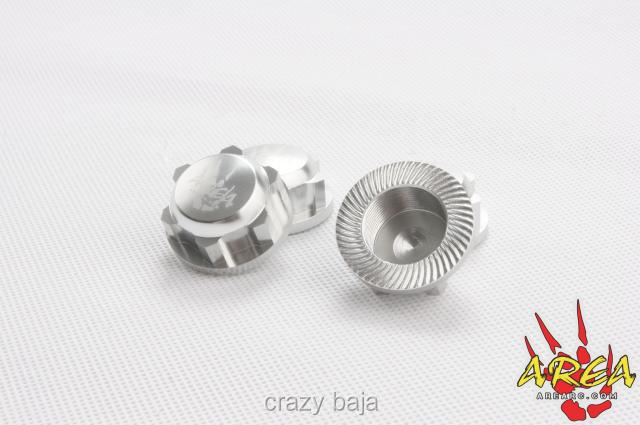 Area Rc 24mm hex jam nuts Dust For HPI BAJA 5B 5T 5SC RV KM