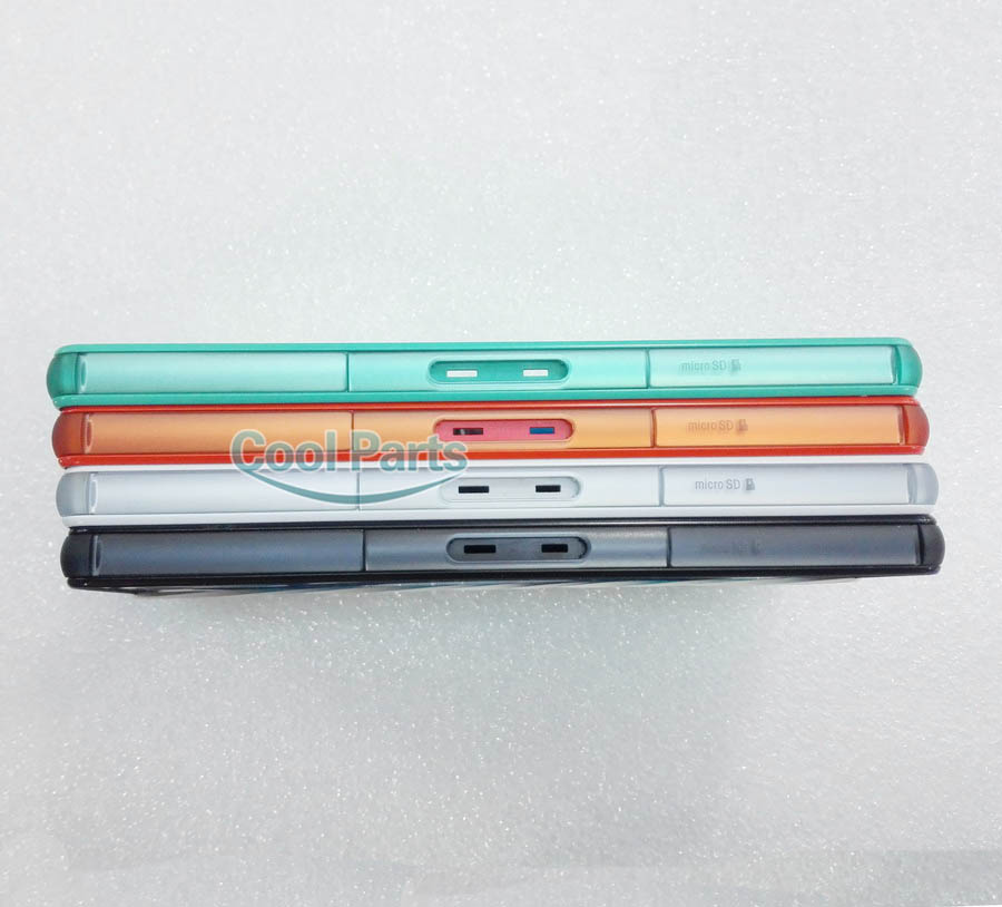 Original New Middle Frame Bezel Plate Chassis For Sony Xperia Z3 Compact Mini M55W Housing With Dust Plug Cover Free Shipping(China (Mainland))