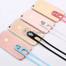 2016 Flexible Anti Lost Mobile Phone Hang Straps Silicon Rope for Samsung Galaxy S7 edge Plus iPhone 6 Plus Lanyard Neck Strap(China (Mainland))