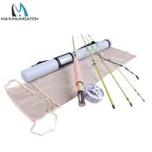 Maximumcatch  Fly Fishing Rod & Fly Reel Combo 6.6FT 2wt Medium Fast Fly Rod(China (Mainland))