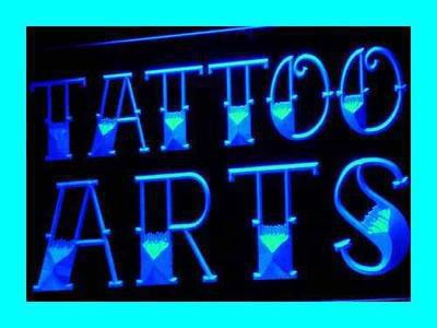ADV PRO i622-b Tattoo Arts Shop Logo Design NEW Neon Light Sign(China (Mainland))