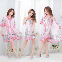 New beautiful  fashion  sexy   pink lace Robes  for home wear free size on sale 02(China (Mainland))
