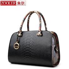 ZOOLER Fashion Bag Ladies Luxury woman bags 2015 bag handbag fashion handbags OL Style Serpentine grain