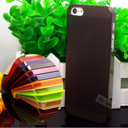 MOQ:1PC Case For iphone 5 5S Ultra-thin Cases Cover  For iphone5 5S 5G Case For Apple iPhone5S 5  Multicolor::--WNSL-SPNG006SL
