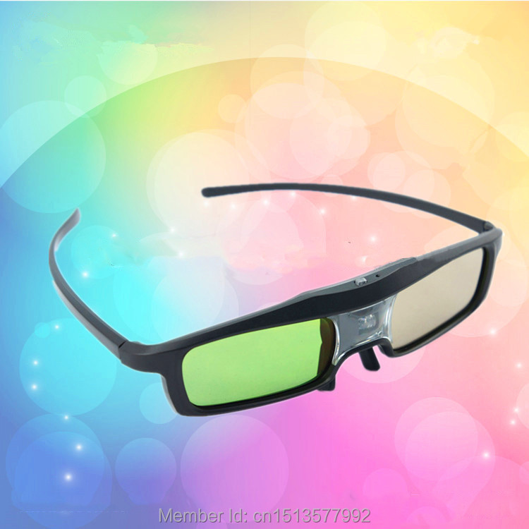 2015 New 3D Shutter Active Glasses for Samsung/Panasonic for Sony 3D TV Universal TV DLP Projector 3D Glasses Free Shipping(China (Mainland))