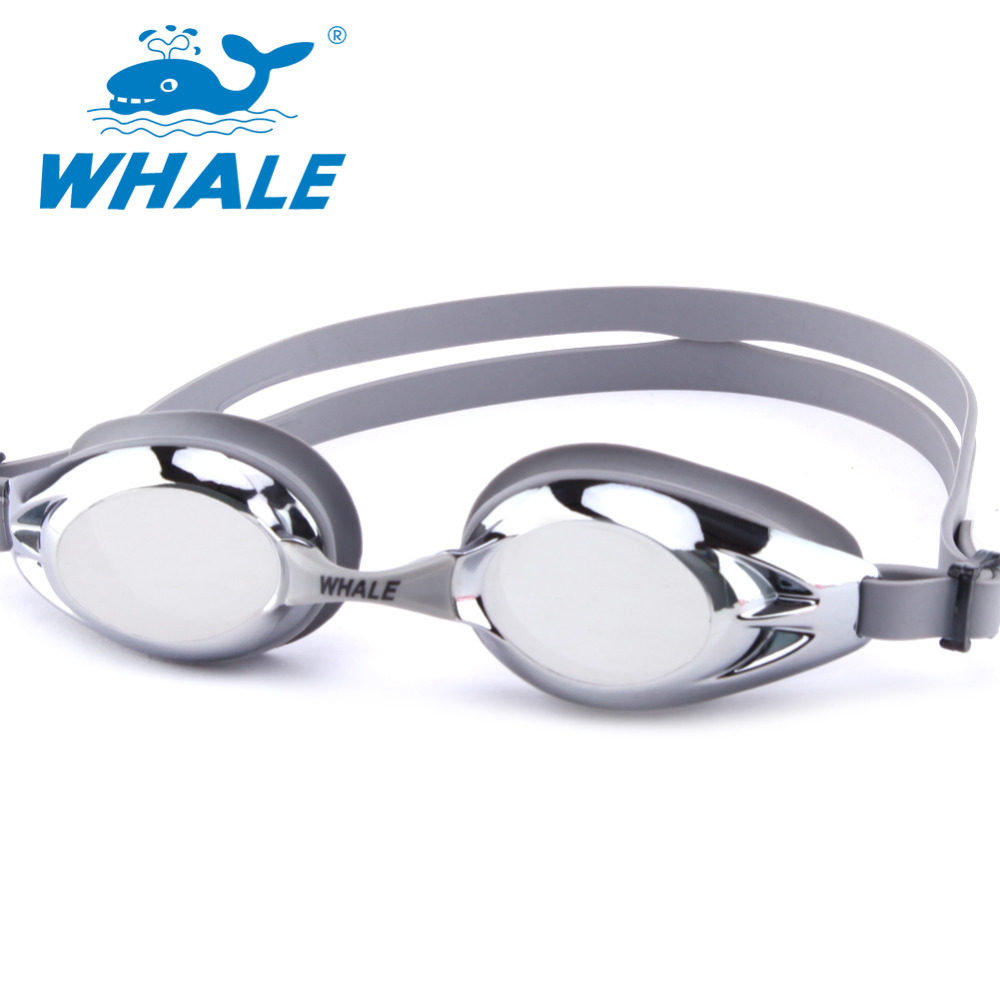 WHALE Brand Professional Anti Fog Swimming Goggles Coating Kids Swim Glasses Men Women Children Goggles Swim Eyeglasses(China (Mainland))