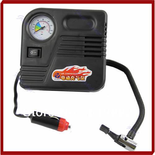 Kris Hot DC 12V Car Electric Pump Air Compressor Tire Auto Inflator Tyre Airbeds Tool 150PSI(China (Mainland))