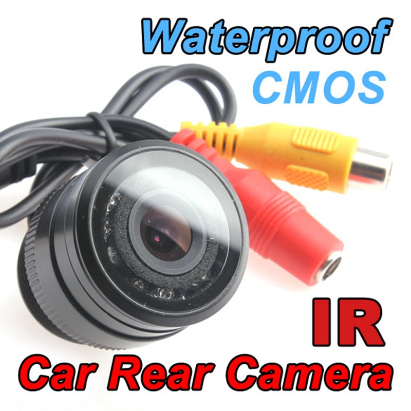 Car-styling Rear View Camera Waterproof E325 Color CMOS/CCD NTSC Automobiles Rearview LED 135 Degree Reverse Backup Camera(China (Mainland))
