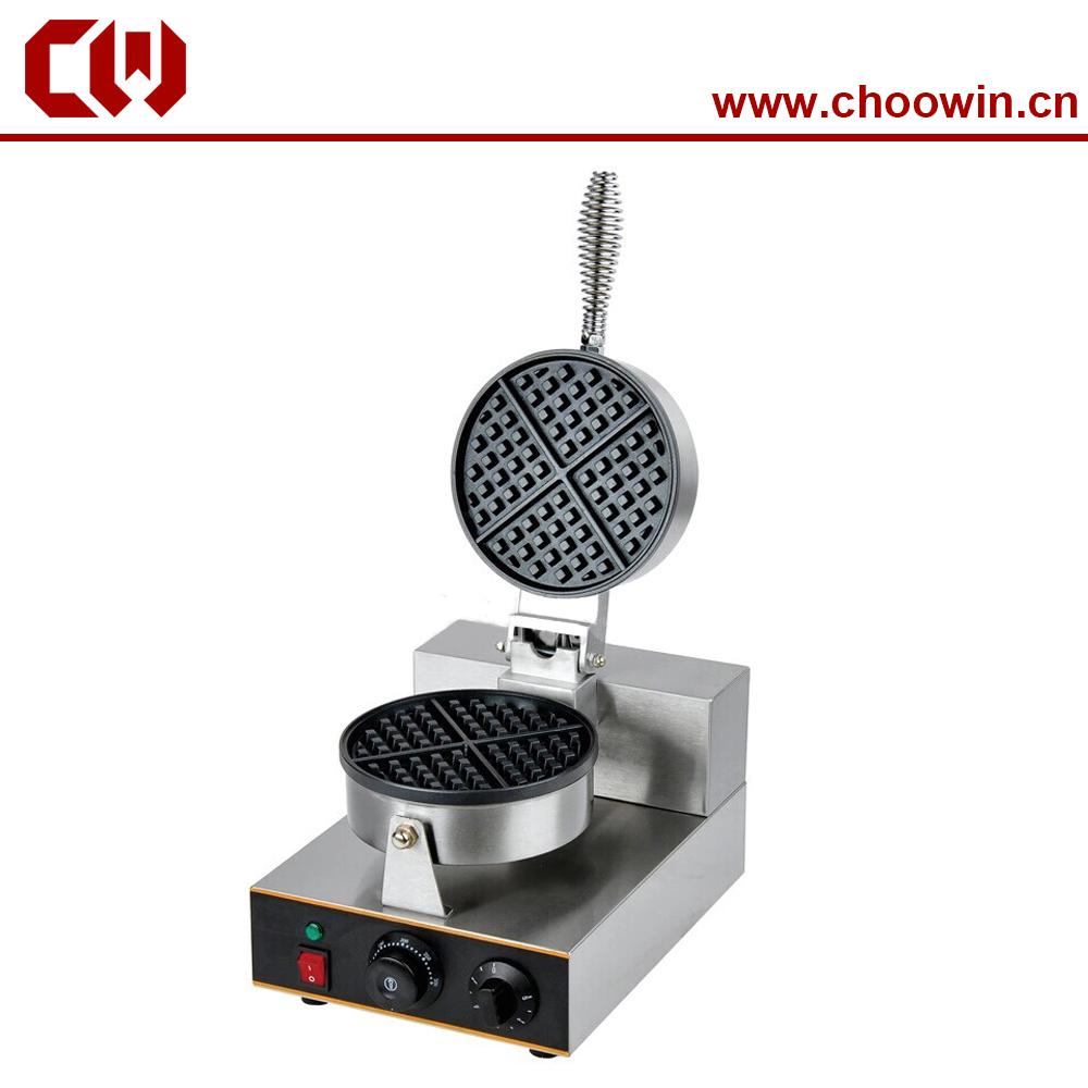 One head round waffle machine waffle maker<br><br>Aliexpress