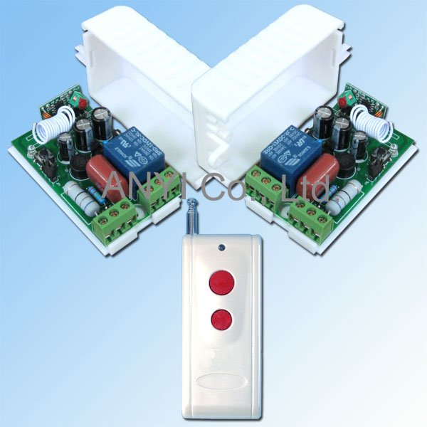 1 Channel 1000W/AC100~250V RF Wireless Remote Control Switch System(China (Mainland))