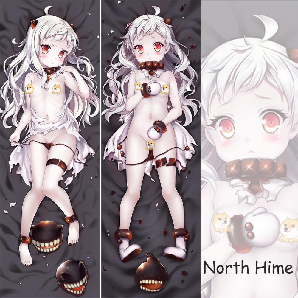 Cute Anime Body Pillow : Aliexpress.com : Buy Japan Anime Game Kantai Collection Northhime Cute Dakimakura Pillow Cover ...