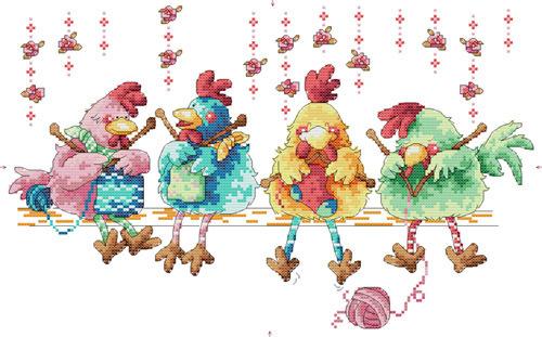 needlework  cartoon Handmade DIY stitching embroidery kits craft   wall home decoration cross stitch kit sets(China (Mainland))