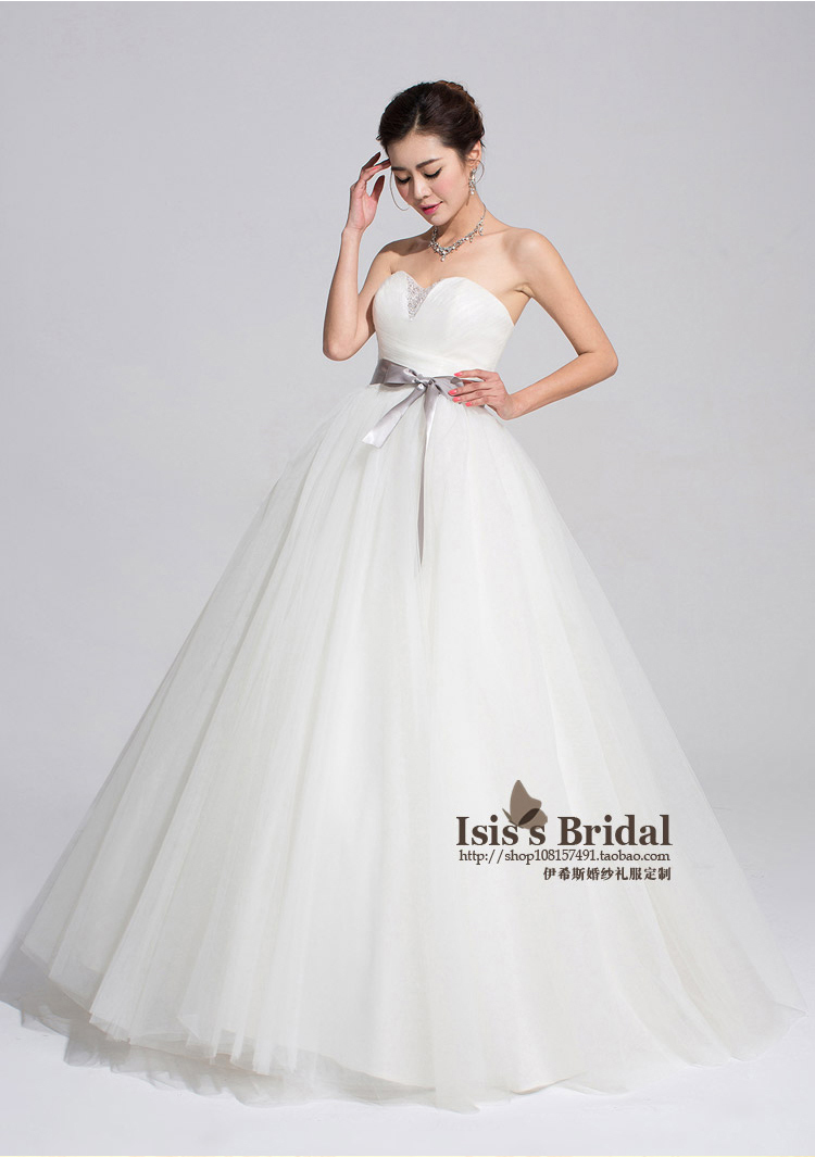 High quality new wedding dress 2014 real sample fashion for What kind of wedding dress