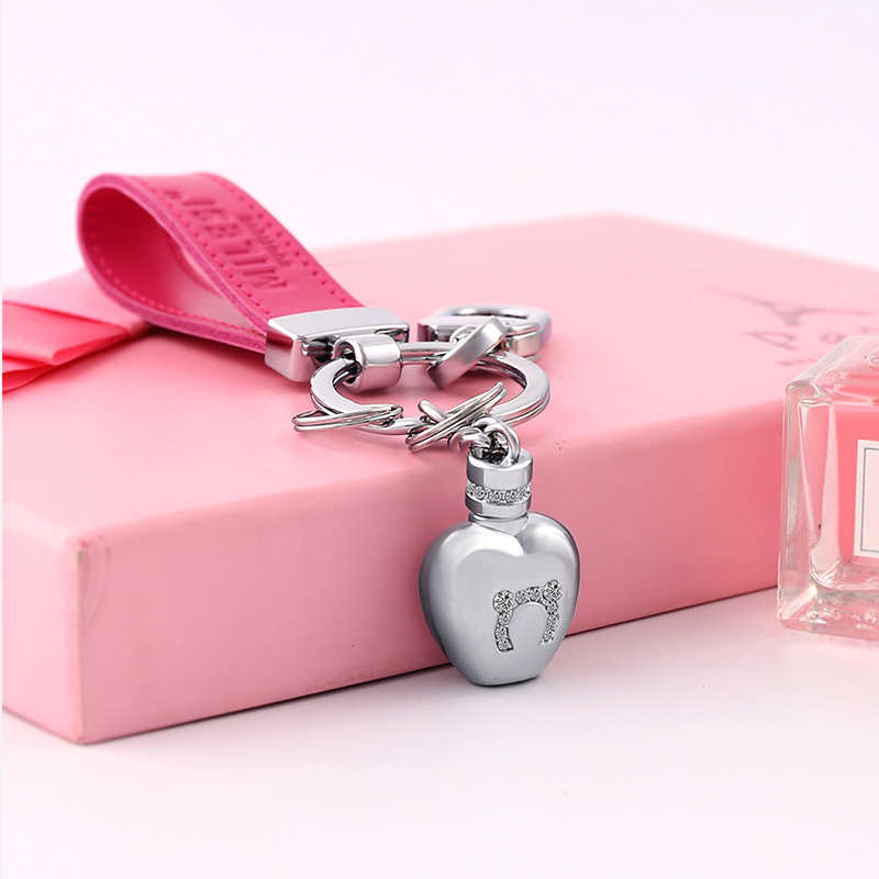 MILESI New Design Creative Keychain Can Send Out Fragrance Handbag Hanging Chain Best Valentine's Gift k0217(China (Mainland))