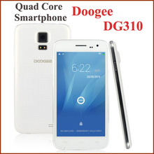 """ZK Original Doogee DG310 5"""" Mobile Smartphone Android4.4 MTK6582 Quad Core IPS Screen 1GB+8GB 5MP+13MP 3G GPS russian language(China (Mainland))"""