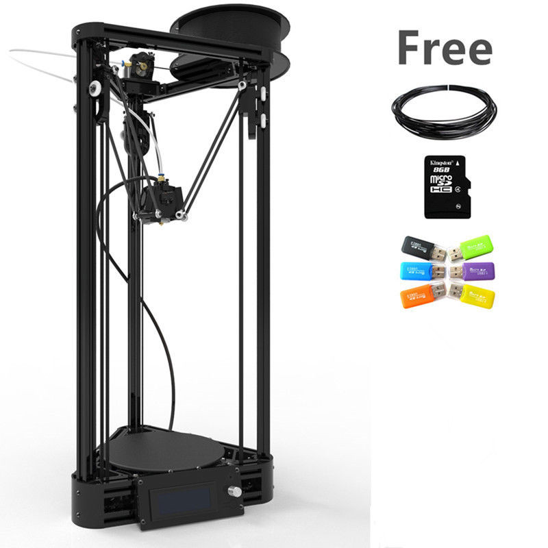 2016 Auto Level 3D Printer DIY kit with Pulley Injection Model Kossel Mini 3D Printer Delta
