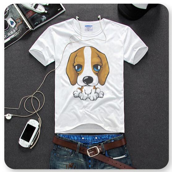 Free shipping dog print childrens tshirts clothes printing for Toddler t shirt printing