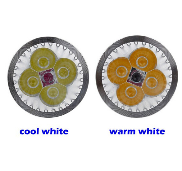 Free express LED 4W M16 HIGH POWER LED Cold White/ Warm White Spot Lamp Light,220V some saler say is 12W(China (Mainland))
