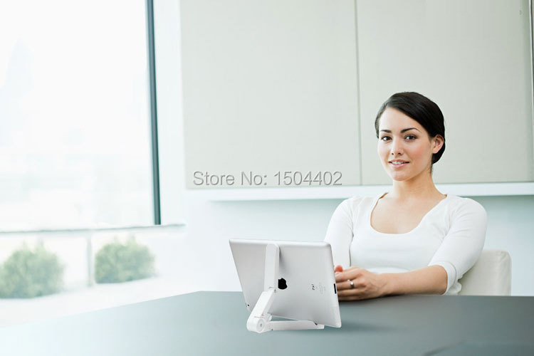 Portable Fold up Stand Holder Bracket for Apple iPad Kindle Android Tablet Universal Portable Fold up