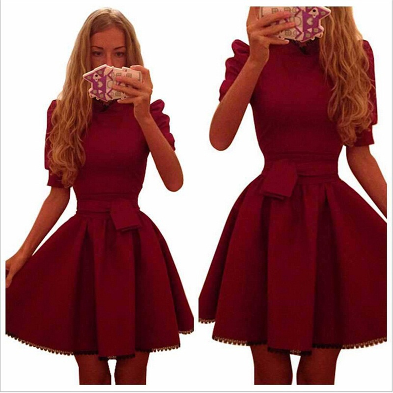 Summer Style Women Dress 2015 Summer Dress Party Evening Elegant A Line Mini Bodycon Casual