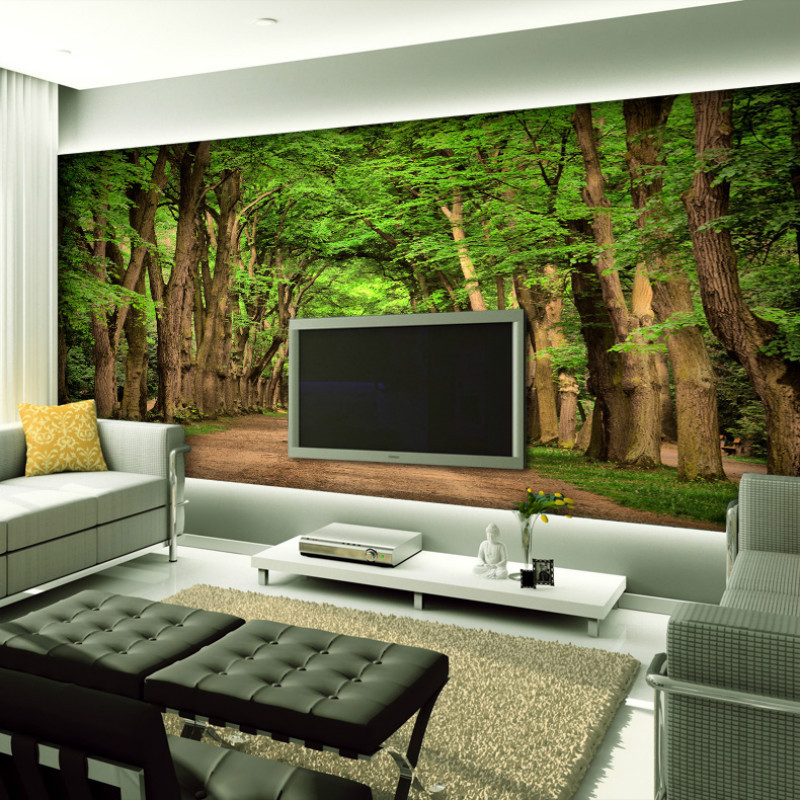 Mural decoration picture more detailed picture about for 3d photo wallpaper for living room