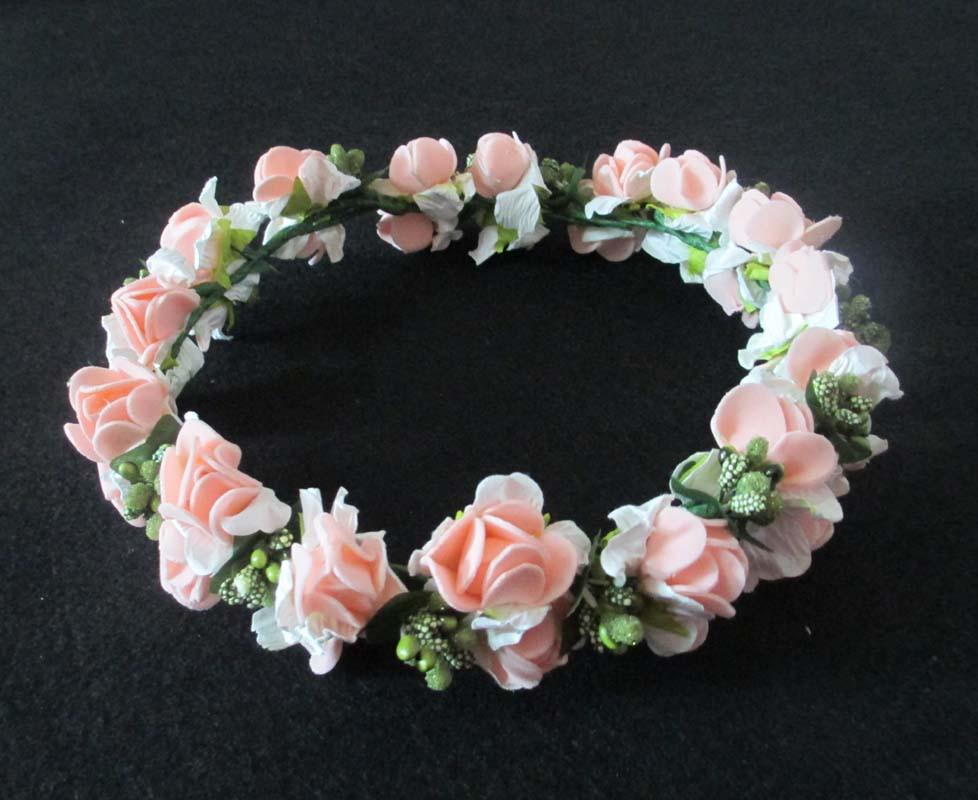 Bridal Flower Wreath For Hair : Mori girl series wedding hair accessories bridal girls
