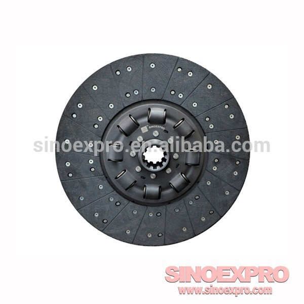 Shacman Clutch disc DZ1560160012 for Chinese trucks(China (Mainland))