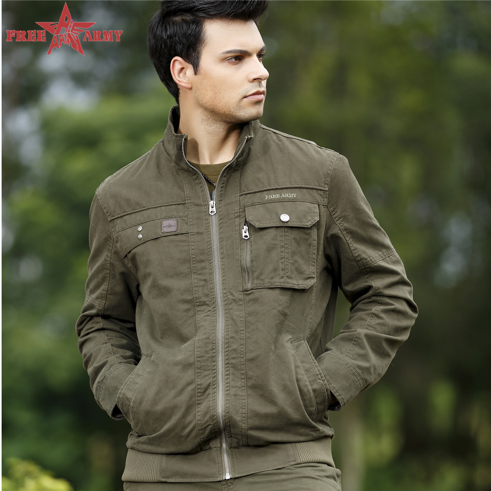 Free Army Brand New Arrival 2015 Mens Jackets And Coats Plus Size Cotton Thickening British Style Males Jeans Jacket MA76J007(China (Mainland))