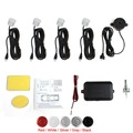Brand New Car Parking Sensor System with Audible Alarm Waterproof with 4 Sensors Buzzer Back Car
