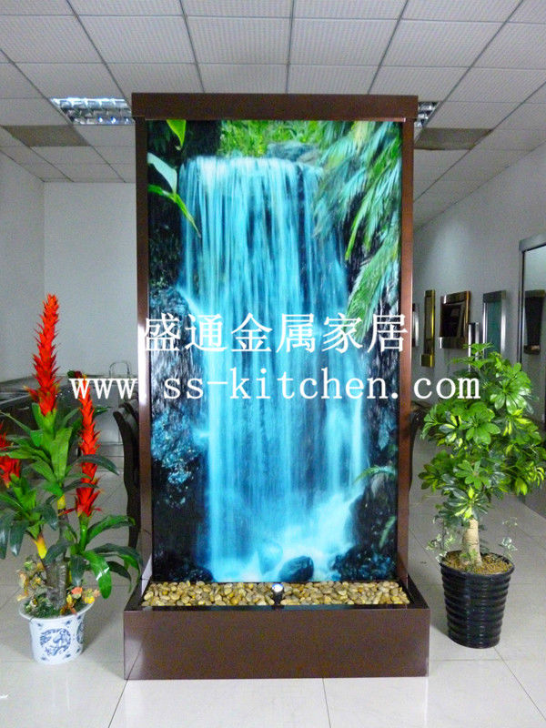 European fasionable wall/water fountain/fengshui separating screen decoration/humidifier/house decoration(China (Mainland))