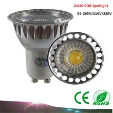 Buy Dimmable GU10 COB LED Bulb Spot Light AC85-265V /110V/220V 9W 12W 15W LED lamp Warm white / White / Cool white for $3.10 in AliExpress store