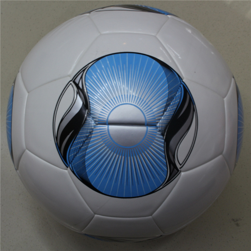 Free shipping 2015 Bundesliga PU leather size 5 soccer ball, Hertha BSC Football ball Youth Competition(China (Mainland))
